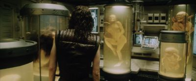 Ripley finds deformed copies of herself. Still from Alien Resurrection (1997), courtesy of 20th Century Fox